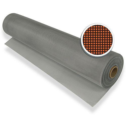 """Silver Aluminum Screen 48"""" X 100' (122 CM X 30.5 M)"""