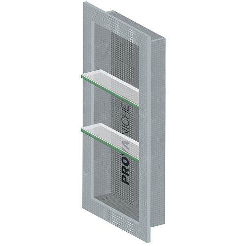 Niche - 33 In X 16 In - Two Adjustable Shelves