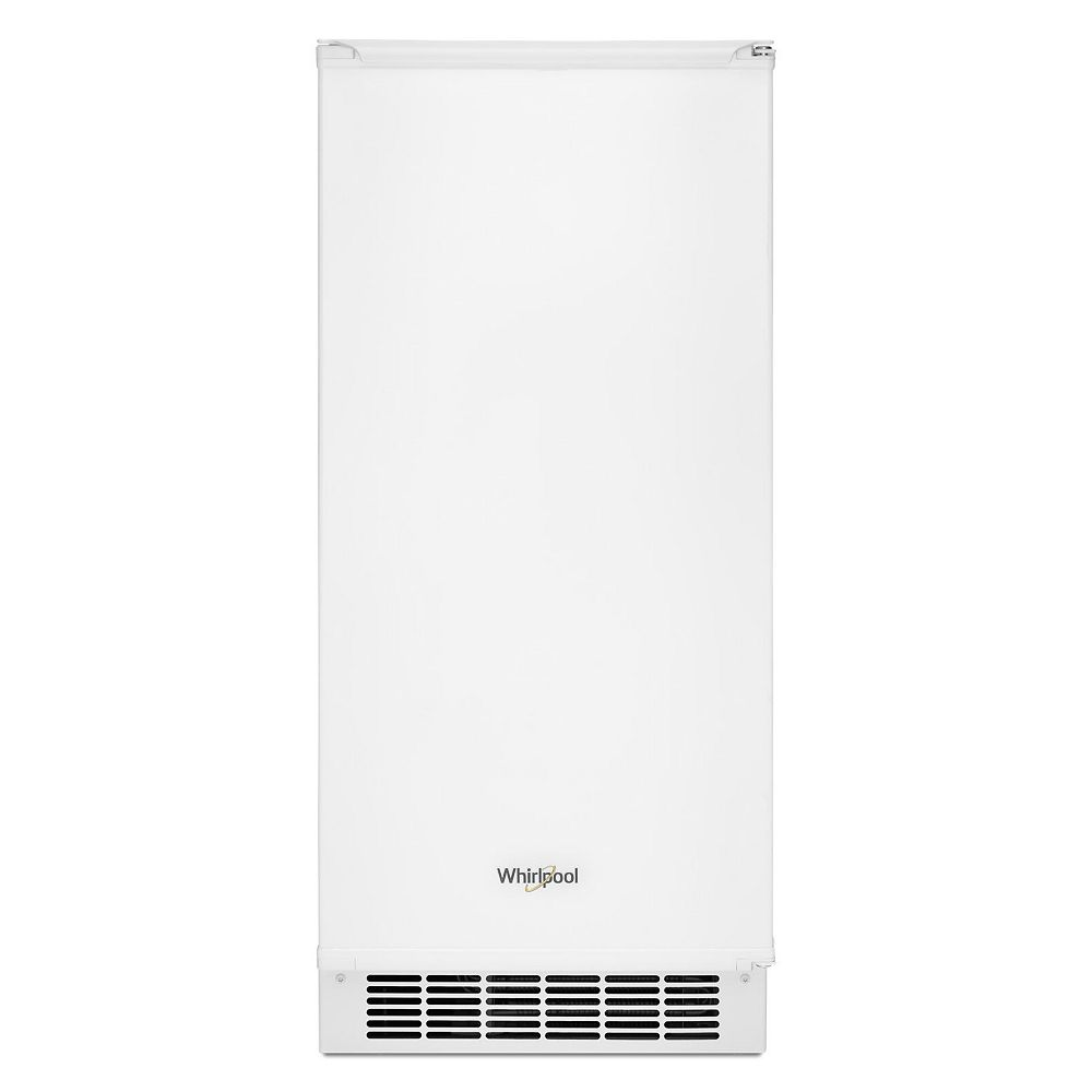 Whirlpool 15-inch W 25 lb. Automatic Ice Maker in White