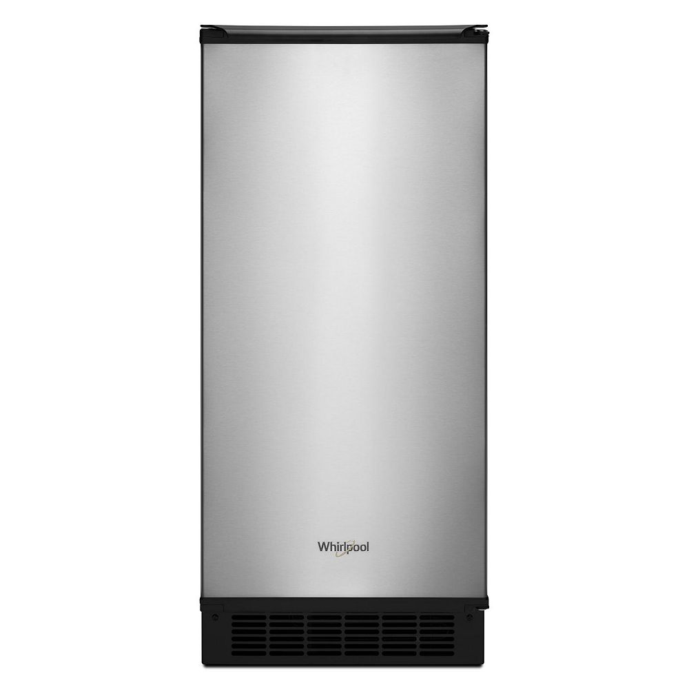 Whirlpool 15-inch W 25 lb. Automatic Ice Maker in Fingerprint Resistant Stainless Steel