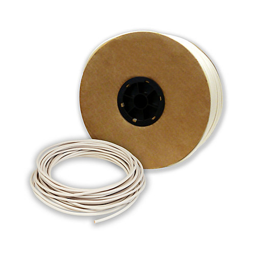 240 VAC DMC Electric Floor Warming Cable for Uncoupling Membrane: 1.3 amps, 25-30 sq. ft. area