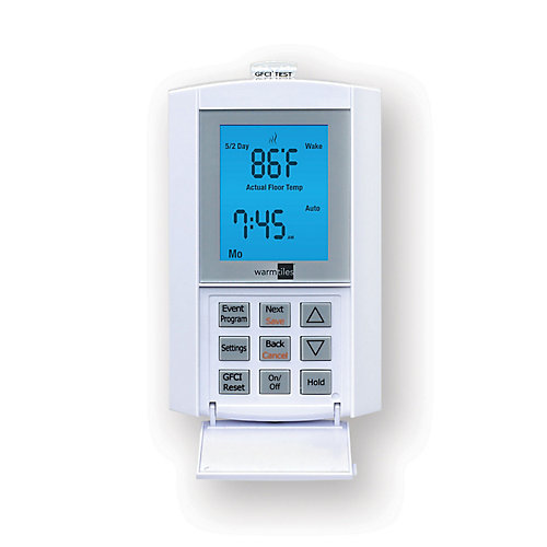 120V/240V, 15 A FGS Programmable Thermostat - For Electric Floor Warming Systems