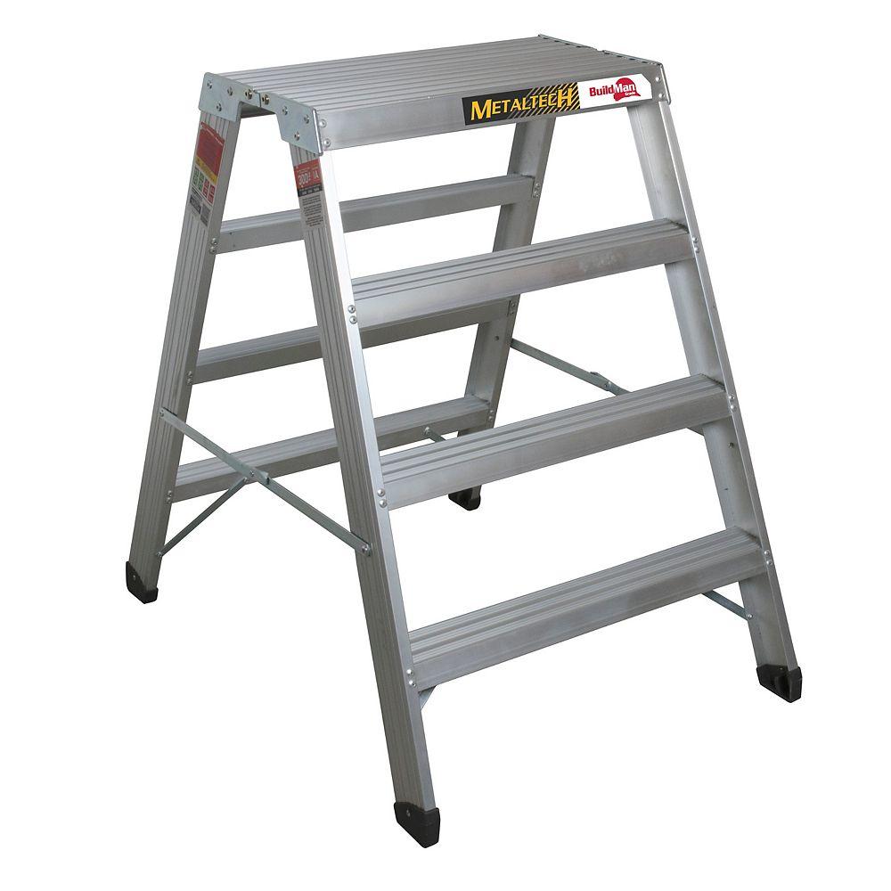 Metaltech Buildman 4 ft High Aluminum Work Stand