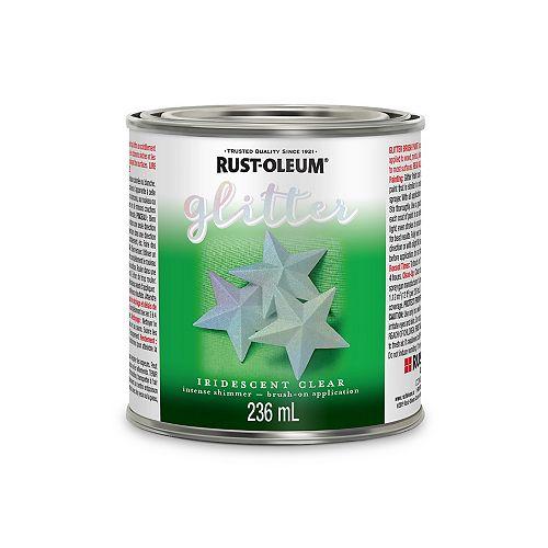 Rust-Oleum Glitter Brush Iridescent