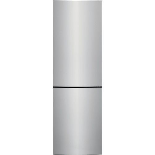 24-inch W 11.6 cu. ft. Bottom Freezer Refrigerator in Stainless Steel - ENERGY STAR®