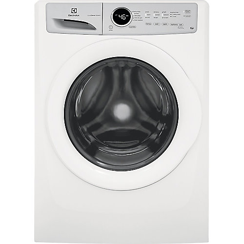 5.0 cu. ft. High Efficiency Front Load Washer in White, ENERGY STAR