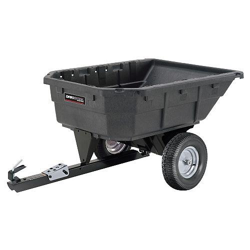 12.5/15.0 cu. ft. Heaped 1000 lb. Poly Swivel Dump Cart