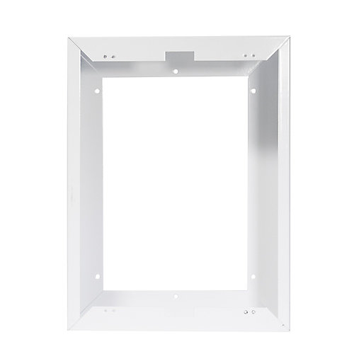 Ensemble de garniture d'installation en surface pourmodèle COM-PAK et COMP-PAK BATH, Blanc