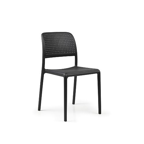 Nardi Bora Side Chair (Set of 4) in Anthracite