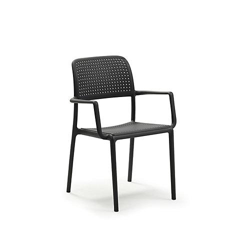 Ensemble Bora de quatre fauteuils -Anthracite
