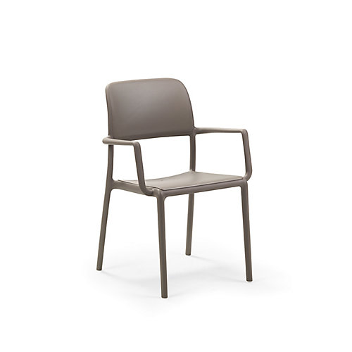 Riva Arm Chair (Set of 4) in Tortora