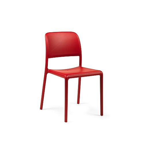 Nardi Riva Side Chair (Set of 4) in Red