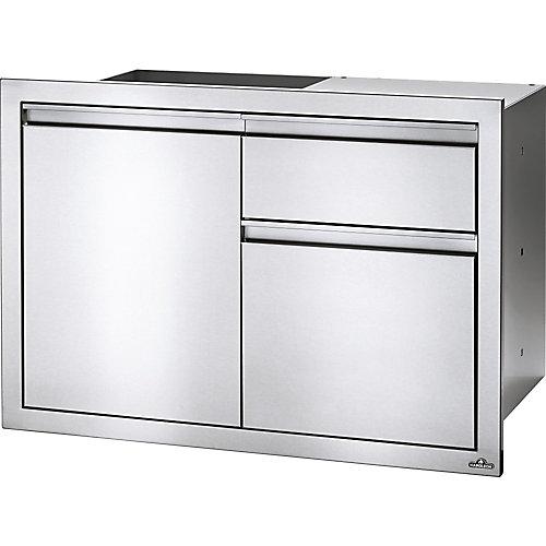 36 inch X 24 inch Single Door & Standard Drawer