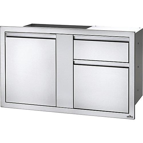 42 inch X 24 inch Large Door & Waste Bin Drawer