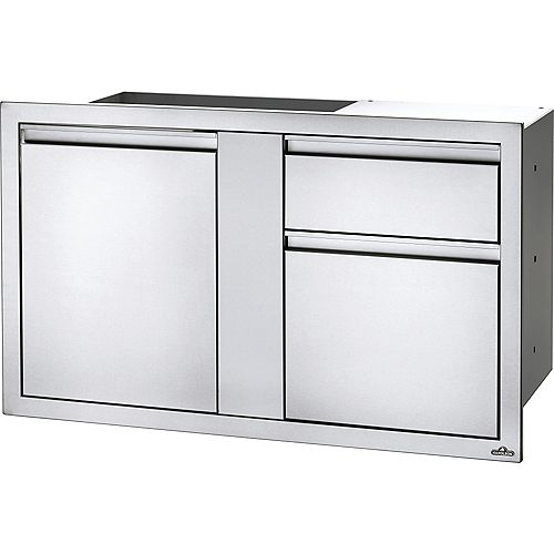 42 inch X 24 inch Large Door & Waste Bin Drawer