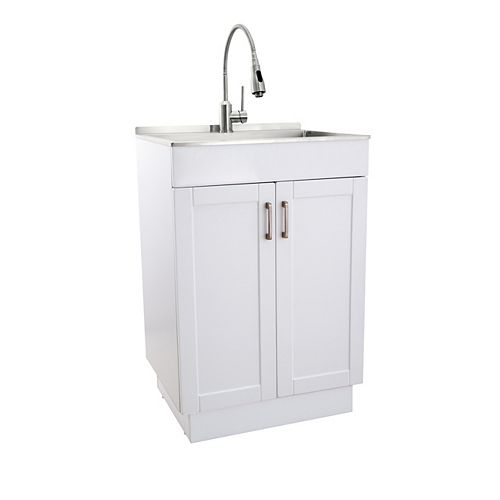 All-in-One Laundry Sink and Cabinet