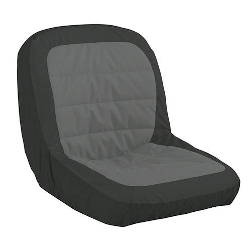 Housse de siège moulante pour tracteur tondeuse, Grande