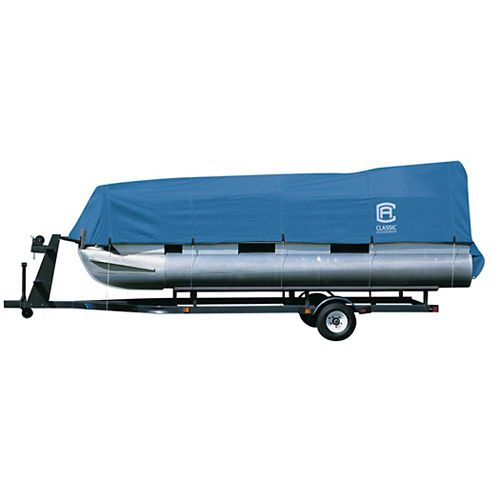 Stellex Pontoon Boat Cover, Fits Pontoon Boats 21 ft. - 24 ft. L x 102 inch W