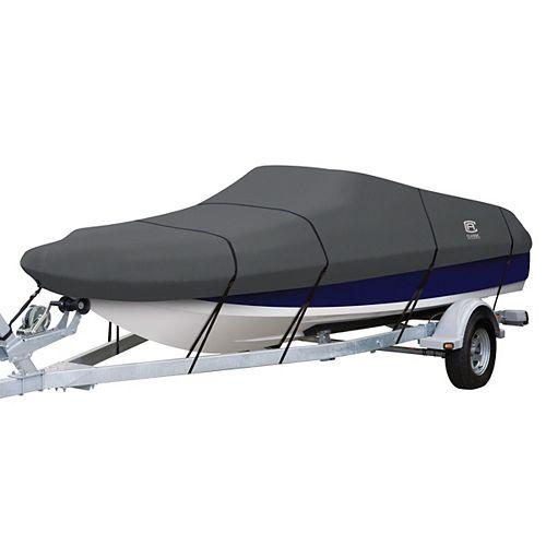 Housse pour bateau ponté de 16 pi à 18.5 pi long x 98 po large