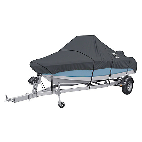 StormPro Center Console Boat Cover, Fits Boats 17 ft. - 19 ft. L x 102 inch W