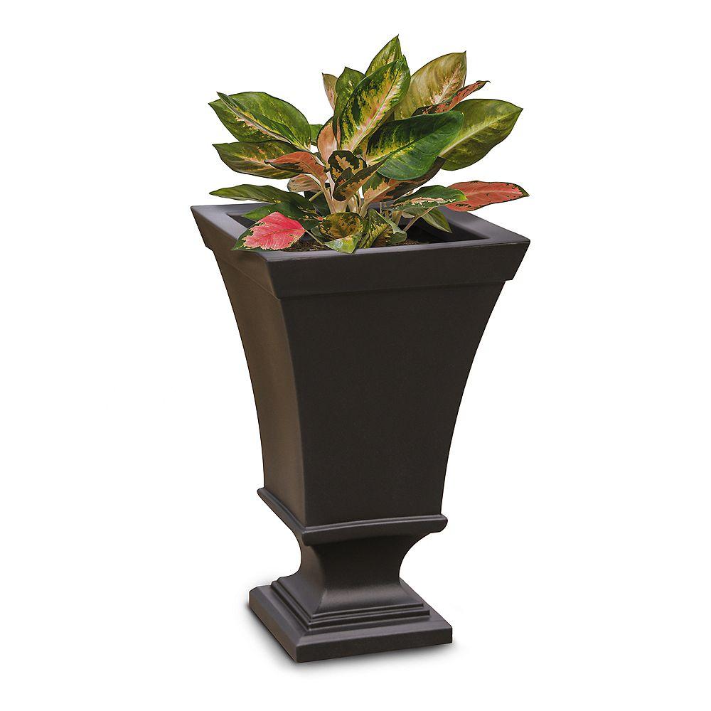 Mayne Vienna 25 inch Tall Urn Planter- Espresso
