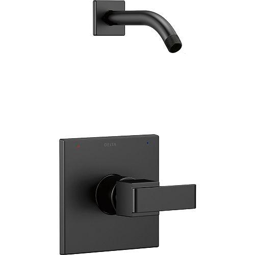 Ara Monitor 14 Series Shower Trim - Less Shower Head, Matte Black (Valve Sold Separately)