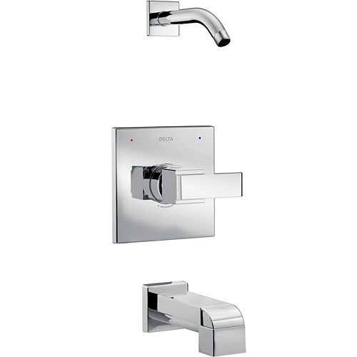 Ara Monitor 14 Series Tub and Shower Trim - Less Shower Head, Chrome (Valve Sold Separately)