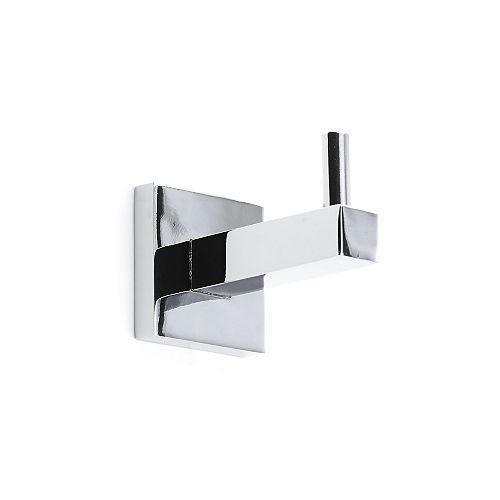 Palisades Collection Decorative Bathroom Hook, Chrome