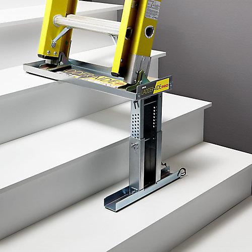 Ladder-Aide Pro pour les échelles de type 1AA -Sûr et facile de travailler dans les escaliers