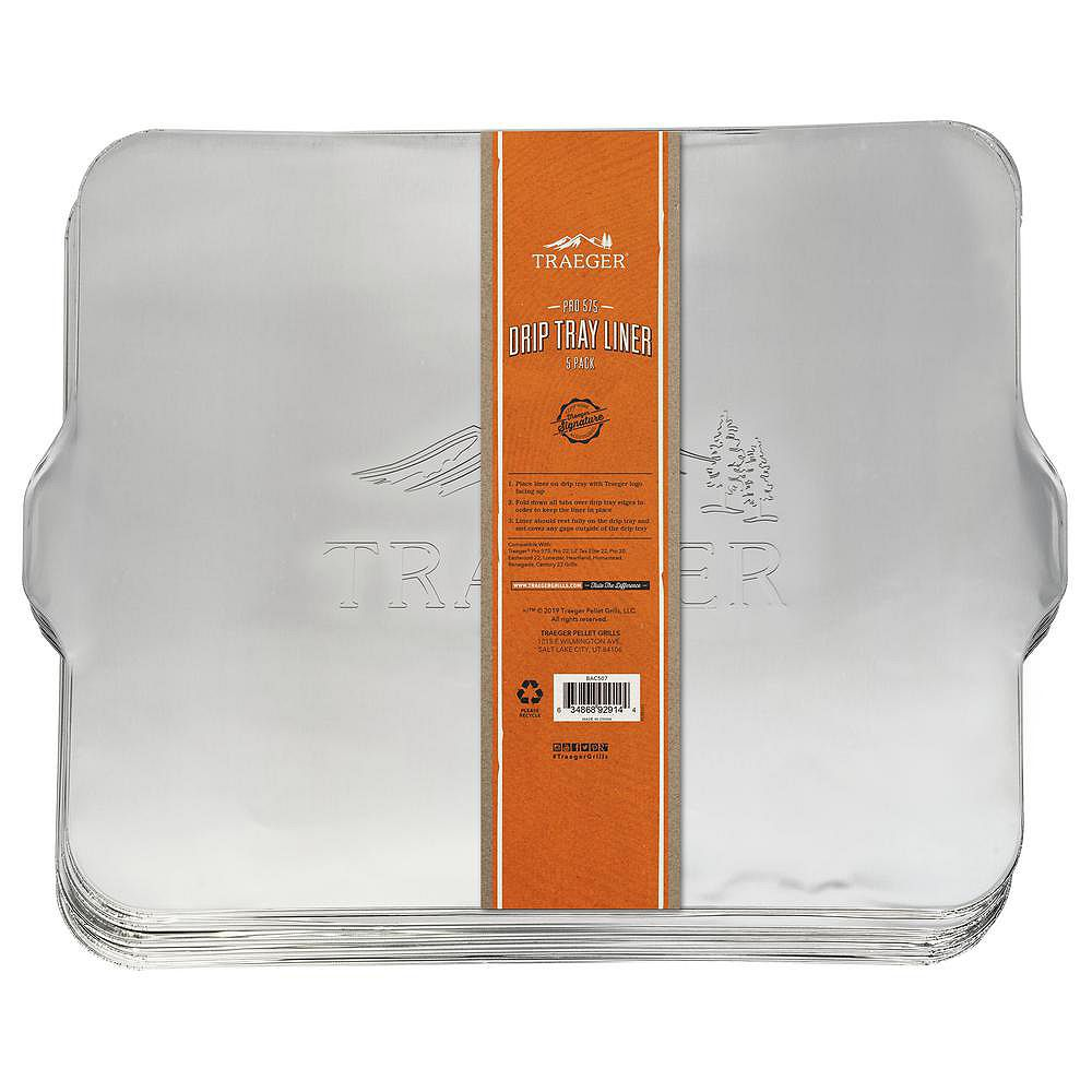 Traeger Pro-575 5-Pack Drip Tray Liner