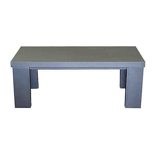 Oasis Table Basse 24x48 Grise