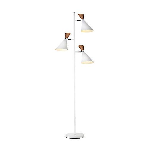 Melaniä - 3 Light White Floor Lamp