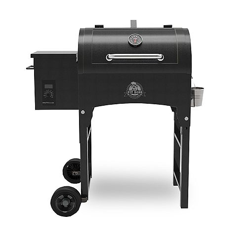 400 sq. inch Portable Pellet Grill with Folding Legs