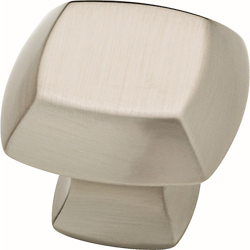 Mandara 1-1/4 inch Brushed Nickel Cabinet Knob (4-Pack)