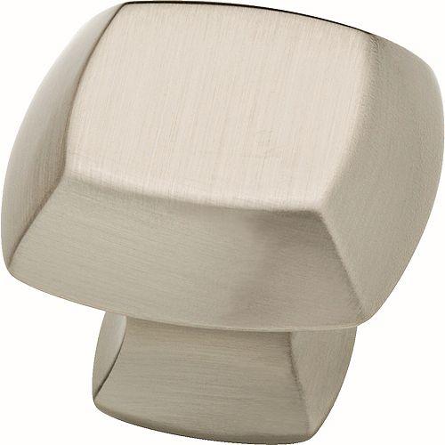 Mandara 1-1/4 inch Brushed Nickel Cabinet Knob (4-Pack)