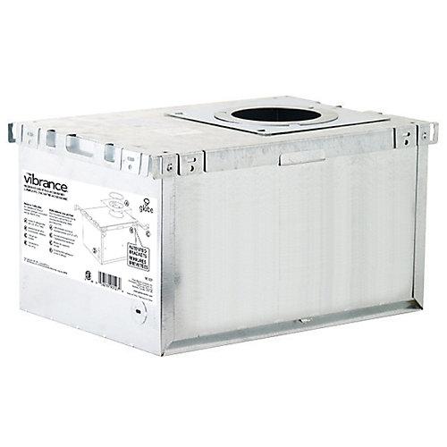 Boîte d'isolation d'éclairage encastré en aluminium certifiée LC