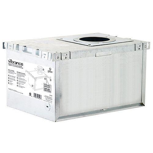 Globe Electric IC Rated Aluminum Recessed Lighting Insulation Box