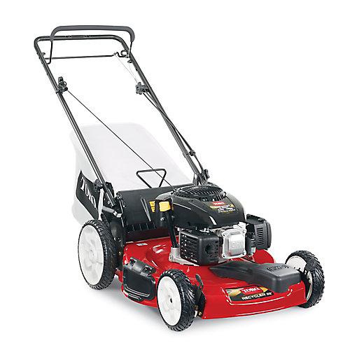 Recycler 22-inch High Wheel Front Wheel Drive Self-Propelled Gas Lawn Mower with Kohler Engine