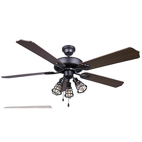 OTTO 52-inch Graphite Ceiling Fan
