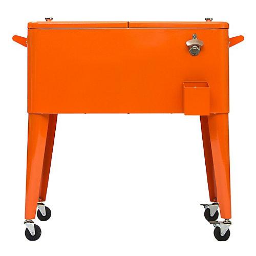 Patio Coolers-80 QT - Orange