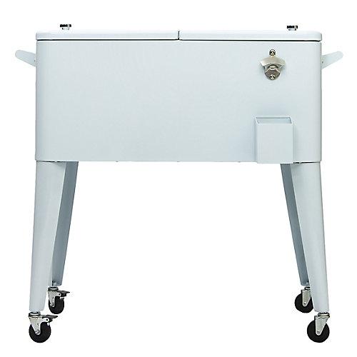 Patio Coolers-80 QT - White