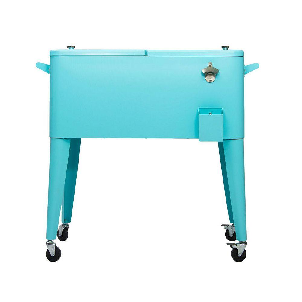 Permasteel Patio Coolers-80 QT - Turquoise