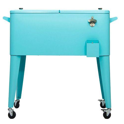 Refroidisseur de Patio 80QT - Turquoise