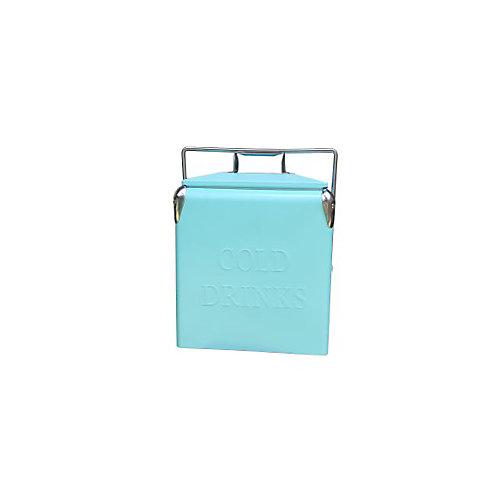 Portable Patio Cooler-14 QT - Turquoise
