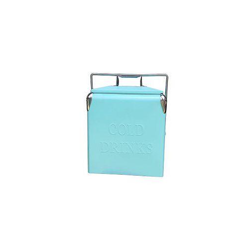 Permasteel Portable Patio Cooler-14 QT - Turquoise