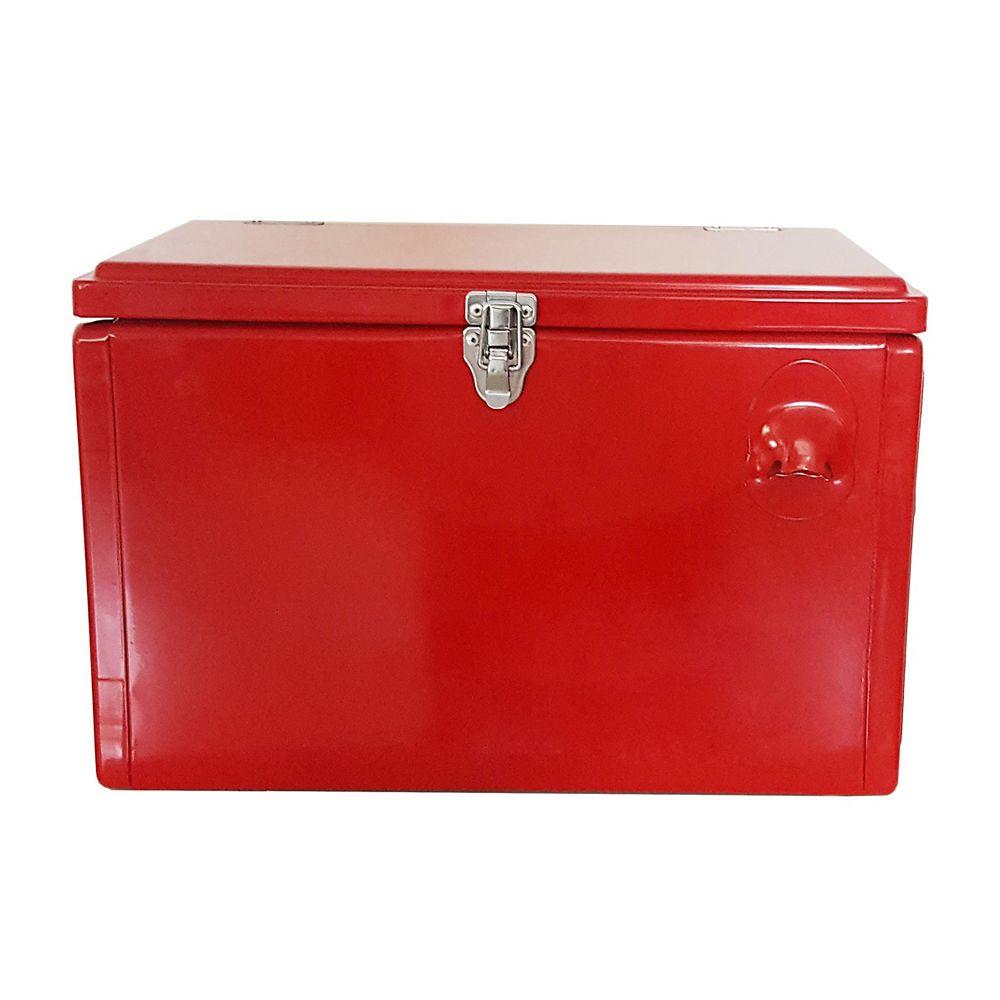 Permasteel Portable Patio Cooler-21 QT - Red