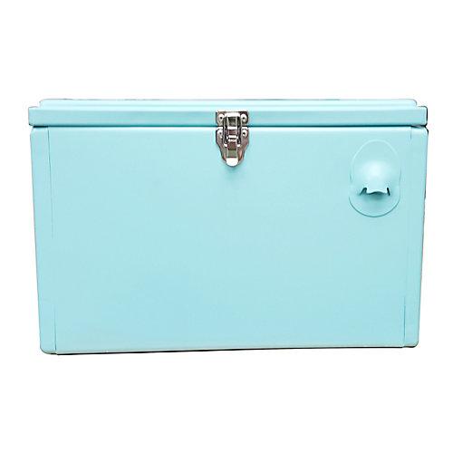 Portable Patio Cooler-21 QT - Turquoise