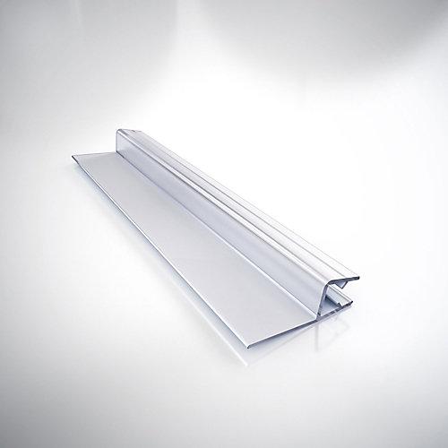 309B3-10, Clair du Bas balayer Vinyle (pré-découpé), 62.87 cm. Longueur, pour 0.95 cm.