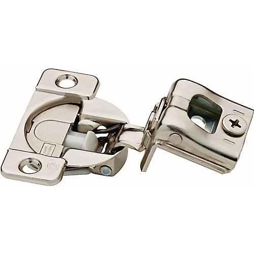 35mm 105-Degree 1-1/4 inch Soft Close Overlay Hinge (10-Pack)