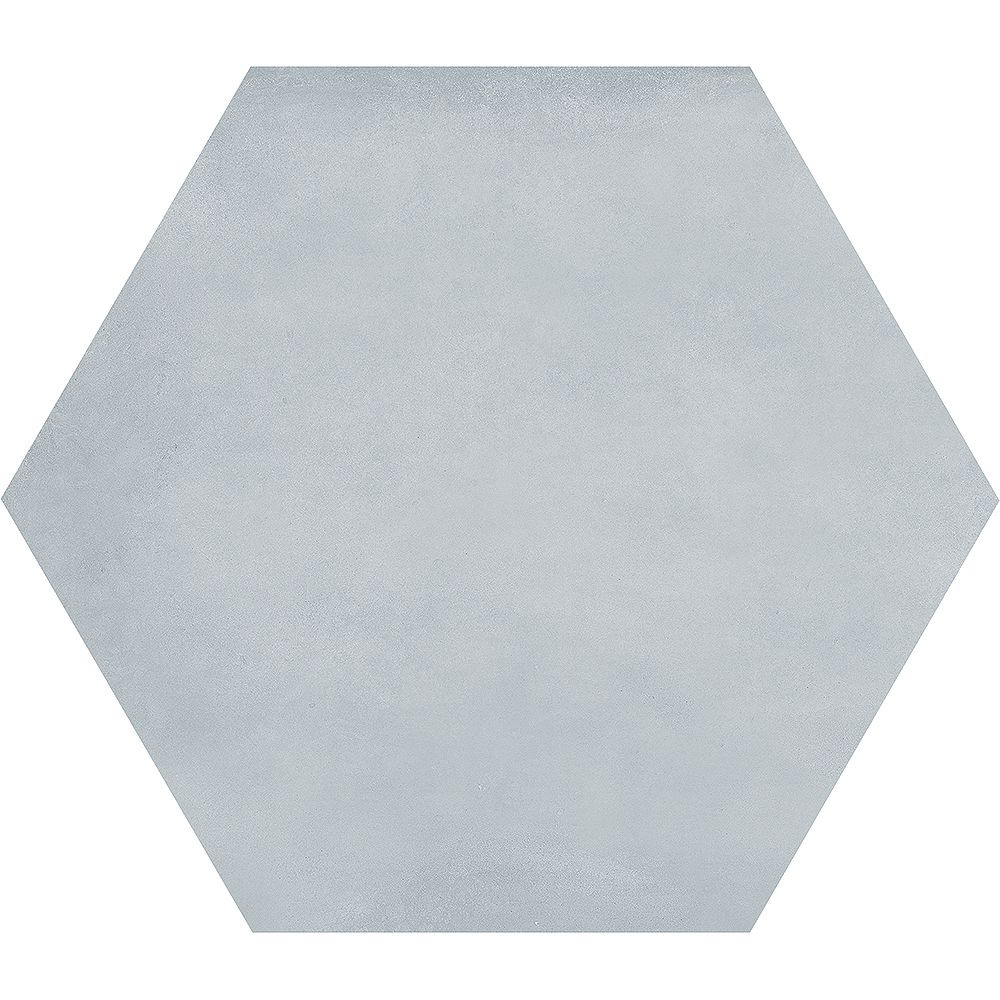 Enigma Carreau de porcelaine haute définition Matte Artisano Acqua Hexagon 7 x 8 po  (2,8 pi.ca/carton)